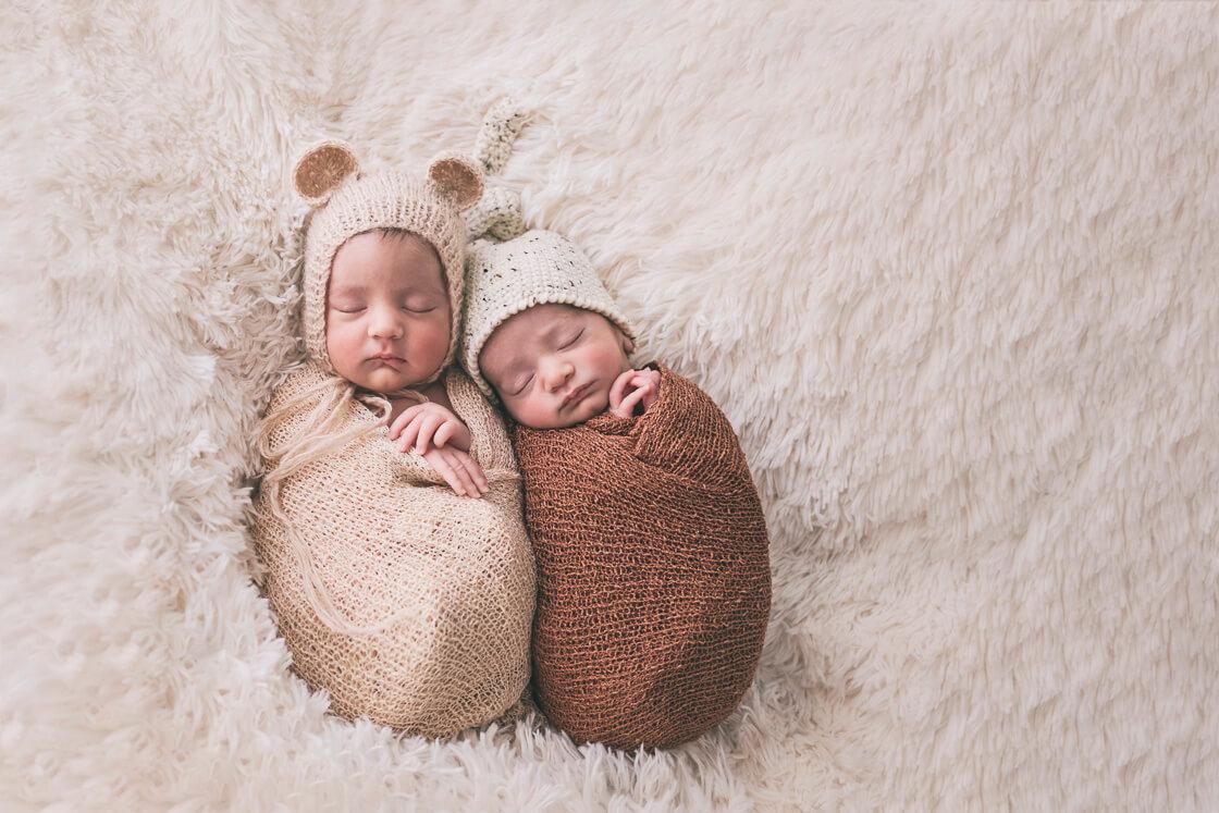 fotos de mellizos recién nacidos Zaragoza